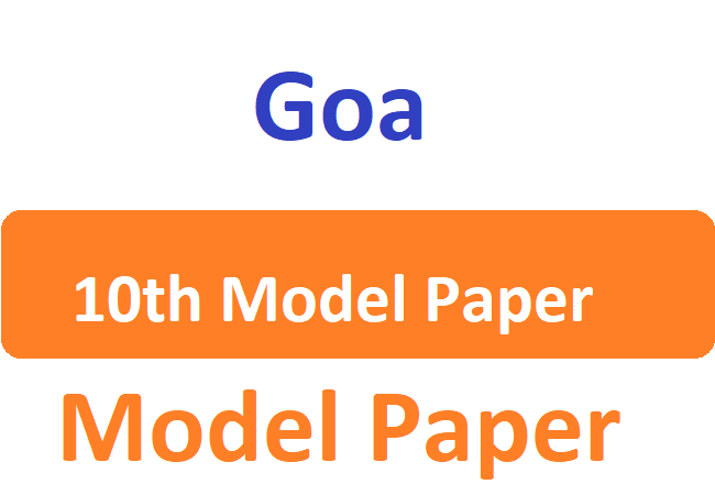 GOA Board HSSC Model Question Paper 2020