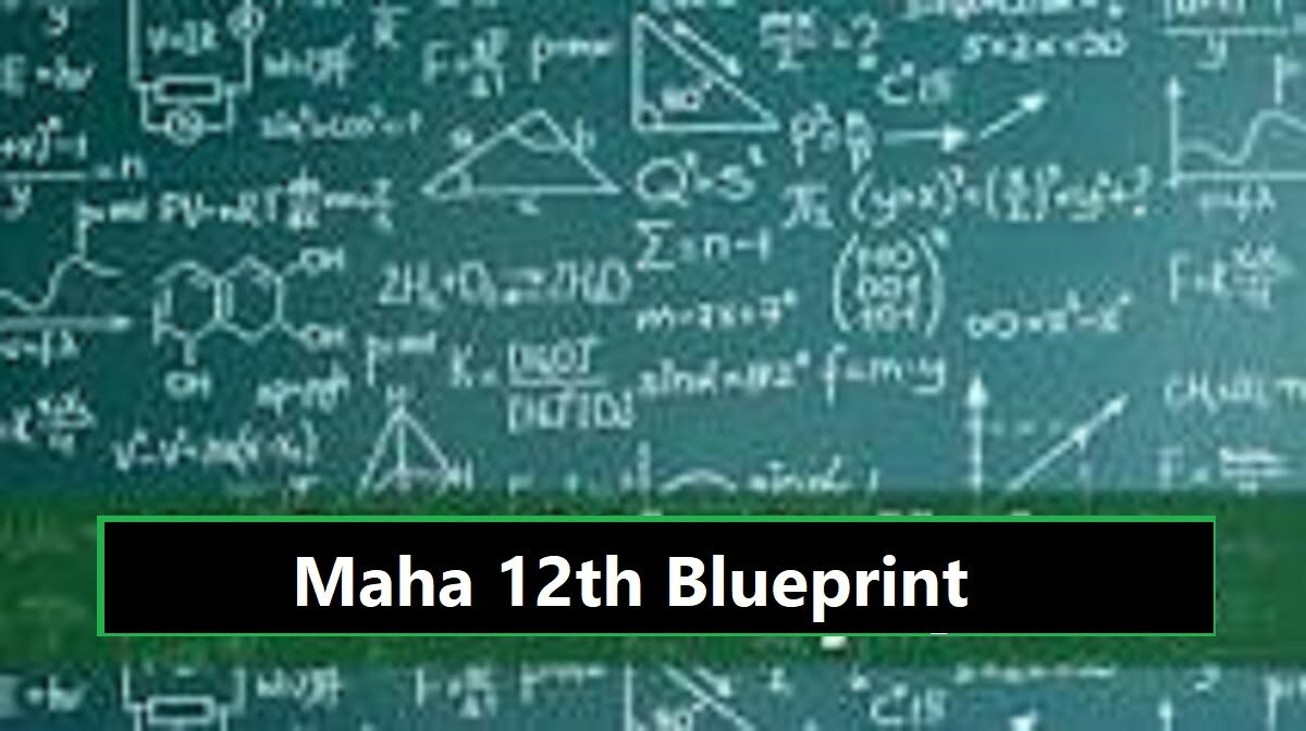 Maha Board 12th Model Paper 2020 Blueprint Maha +2 Question Paper 2020