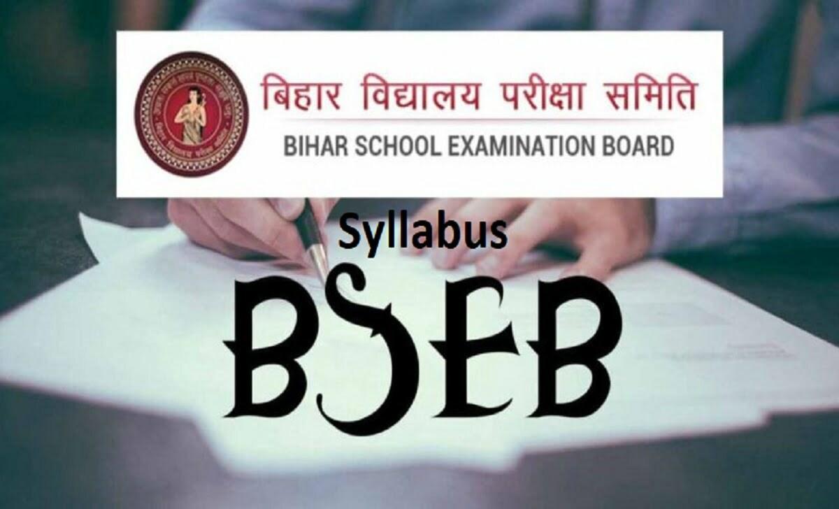 Bihar Patna Board 12th Syllabus 2021 Bihar Intermediate Book 2021 Science, Arts, Commerce