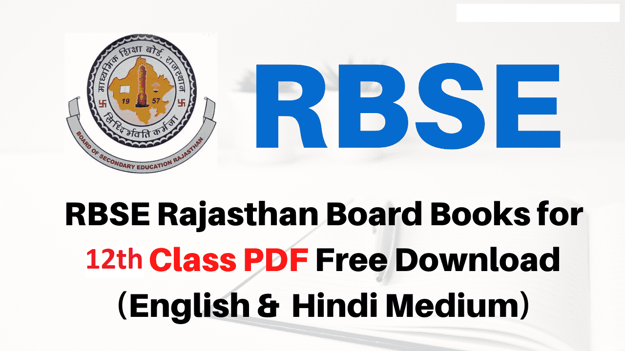 RBSE Board 12th Syllabus 2021 Rajasthan 12th Syllabus Arts, Science, Commerce