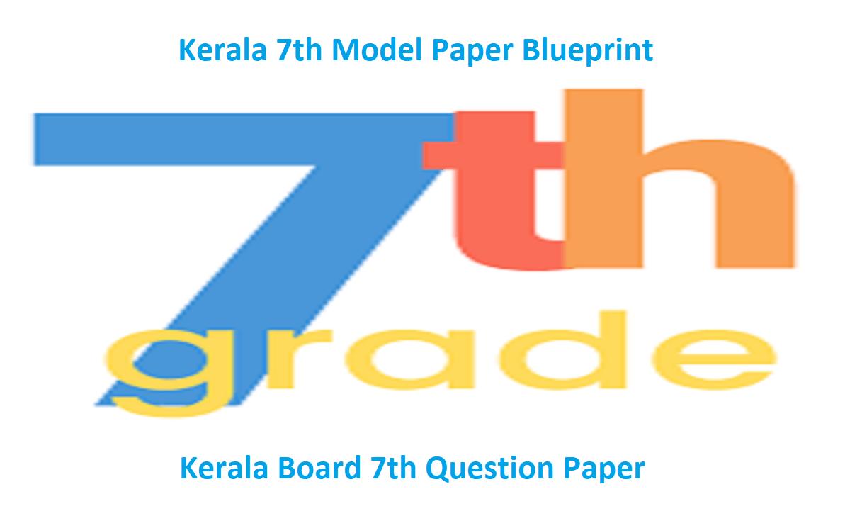 Kerala Board 7th Question Paper 2021